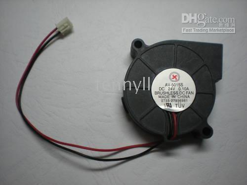 24v blower Australia - Brushless DC Blower Fan 5015S 24V 50x50x15mm 2 Wire 30 pcs per lot