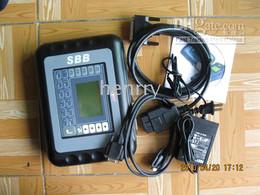Wholesale Dhl Sbb Key Programmer - free by DHL or EMS SBB v33 Immobilizer key Programmer V33.02 version silica auto key pro
