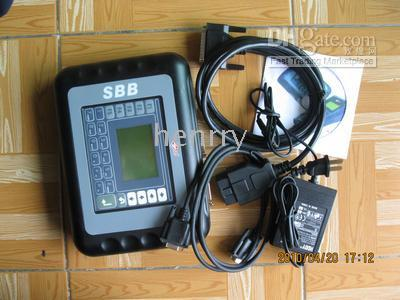 Wholesale Silica Sbb Key Programmer - free by DHL or EMS SBB v33 Immobilizer key Programmer V33.02 version silica auto key pro