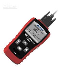 Wholesale Scanner Cable Obd2 - Autel MAXSCAN GS500 OBDII EOBD CAN Auto Scanner Code Reader ,super code reader GS 500 OBD2