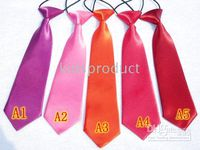 children solid ties hot lovely cute top quality baby necktie...