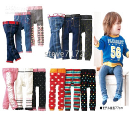 Wholesale Nissen Short Pants - Nissen pants tights children's pant leg warmers baby shorts tight kids trousers short leggings CL633