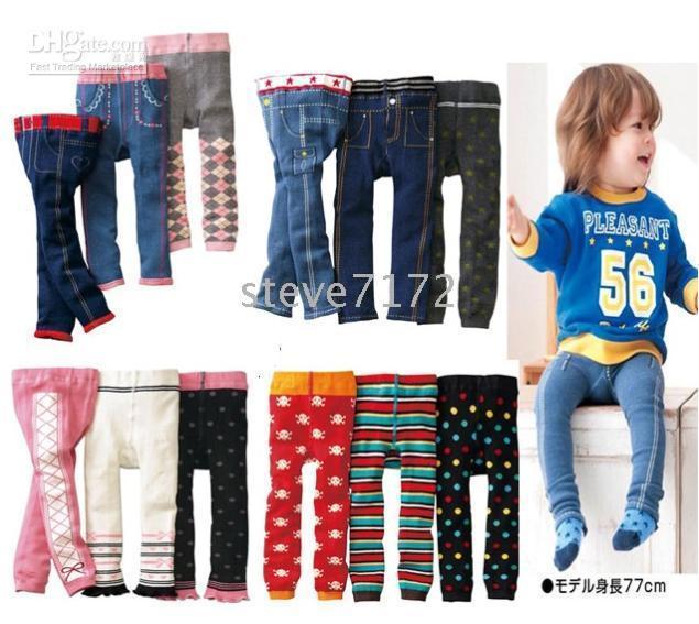 Wholesale Nissen Baby Shorts Pants - Nissen pants tights children's pant leg warmers baby shorts tight kids trousers short leggings CL633
