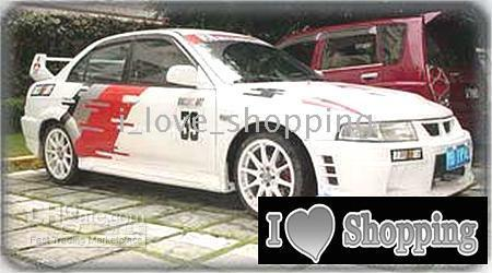 Mitsubishi Lancer Whole Car Decal Sticker Auto Decals - Decal sticker for car