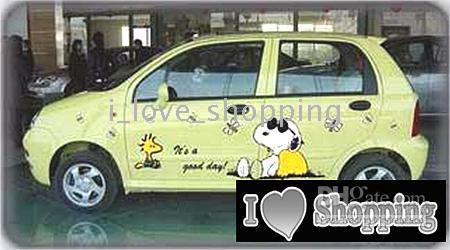 Chery Qq Snoopy Whole Car Decal Sticker Auto Decals Stickers - Car decal stickers