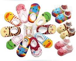 Wholesale Baby Girl Busha - Busha Anti-skid Socks Baby boys girl sock stockings Sock booties 84pairs lot