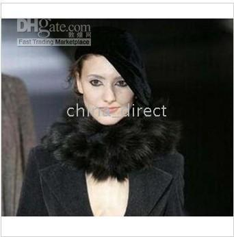 Ladies women Rabbit fur Scarf Fur scarves 15 pcs/lot SUPER HIGH QUALITY,MIXED COLOR