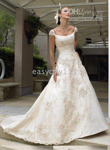 Wholesale Custom Made Free Postage - New wedding evening dresses formal ball gowns --Free postage