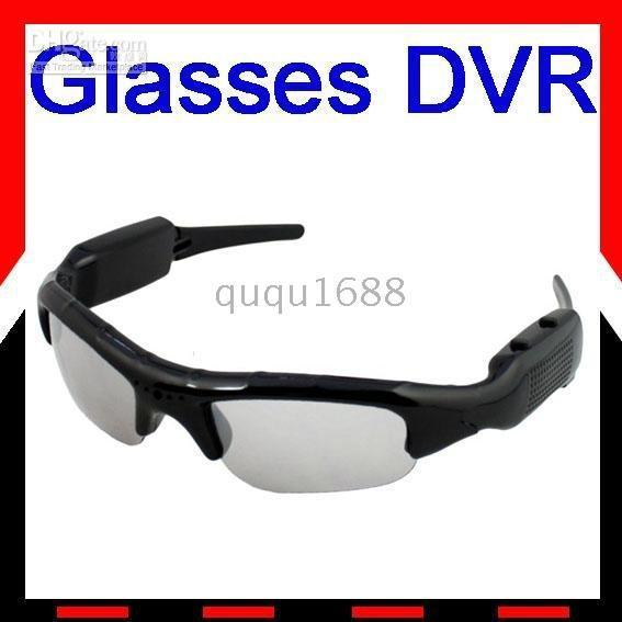 # Freies Schiff Mini DV DVR Spy Sonnenbrille Kamera Audio Video Recorder