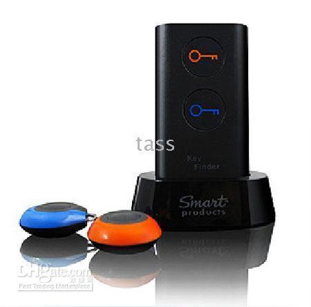Wholesale Wireless Electronic Key Locator - Novelty Electronic Wireless Key Finder Locator For 2 Receivers Key Looker --1pcs