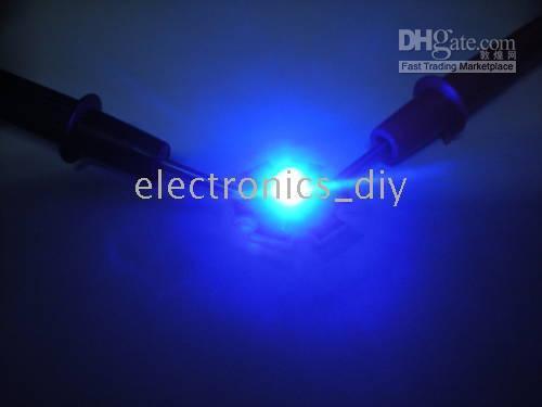 top popular LED Light LED Lamp Blue Color Light 1Watt 440nm 10 pcs per lot Hot Sale 2020