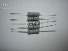 Carbonio resistente online-Resistori fissi a film di carbone 2 W 5% 3,6 Ohm 36 Ohm 100 pezzi per lotto Vendita calda