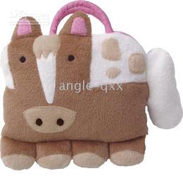 Wholesale Purpose Design - baby bags kids' tote bags NEW Backpacks doomagic pillow in 4 designs dual purpose aniaml pillows