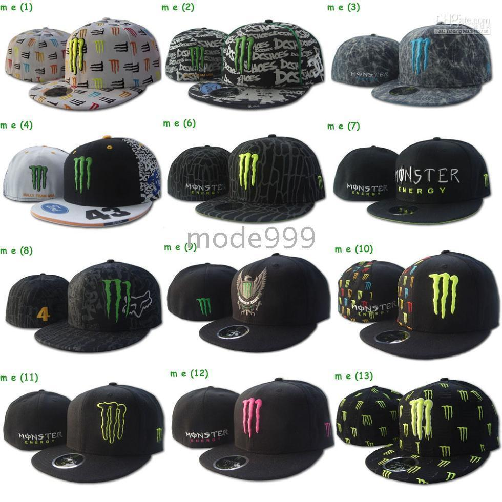 wholesale dealer faea5 42fc0 2019 New Era Monster Energy Cap,59FIFITY Fitted Hats, Cheap Baseball Hats,MLB  Fashion Caps Factory Price From Mode999,  40.65   DHgate.Com