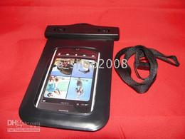 Canada Pochette sèche de sac de peau imperméable de caisse pour l'iphone 2G 3G 3S 4G 4S / touchez le noir 50pcs Offre