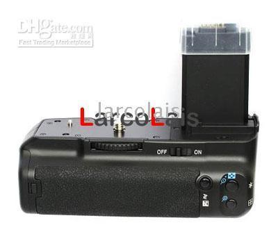 Wholesale Bg E5 - Battery Grip for Canon EOS 1000D 500D 450D Rebel XS XSi T1i BG-E5 Battery Pack Hot Sale DF3012