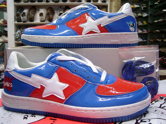 90b8ac57d7ea NEW BAPE STA A BATHING APE Man SHOES Free Shoes Discount Running Shoes From  Ggglll288