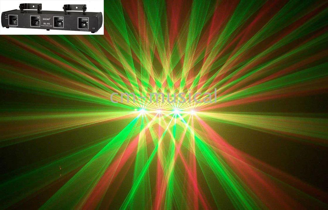 Wholesale Green Dpss Laser - SHINP DL-55GR Double Green and Double Red DPSS laser