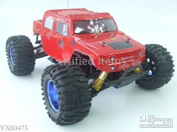 Wholesale Toy Power Trucks - 1:10 Scale RC Truck Electric Power 4WD truck Radio Remote Control car toys