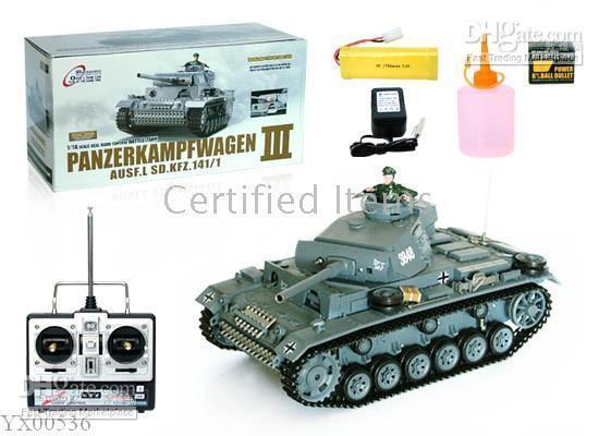 Wholesale Military Tank Toys Control - 1:16 RC tank Tiger Smoke radio-controlled vehicles radio remote control tanks toys
