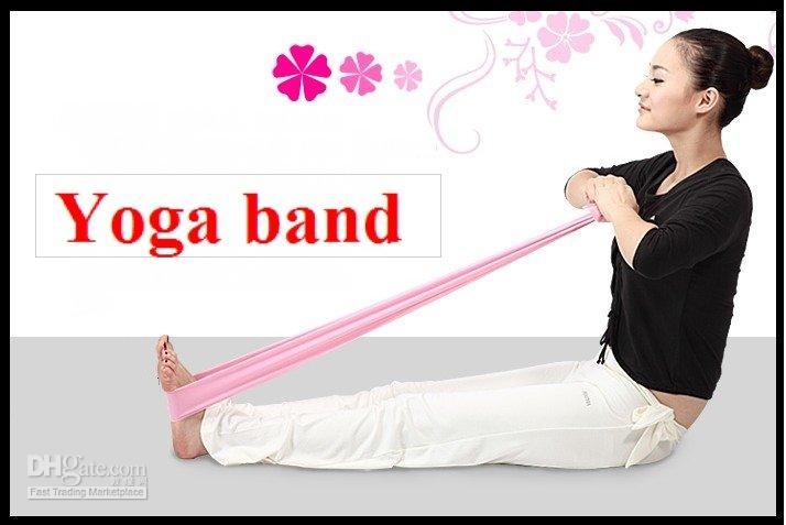 Novo Pilates Yoga Resistance Exercício Bandas Loops Resistance Bandas frete grátis