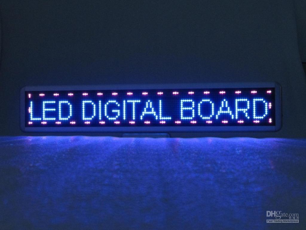 2018 LED Digitl Board,Pink Color Led Sign,C16*128RGB,Fast