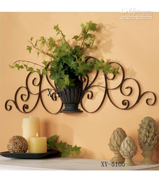 Home Decorative Item Home Decor Metal Wall Decor Iron Plant Holder Home Decor And .