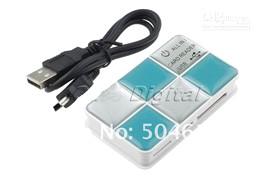 Argentina Envío libre al por mayor 1 pedazos NUEVA USB 2.0 CF / SD / XD / M2 / TF / lector de tarjetas de memoria de MS / escritor Suministro