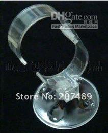 Wholesale Jewelry Rack Retail - Retail Bracelet Wrist Watch Display Rack Holder Show Stand Round Bottom Detachable Bracelet Watch Di