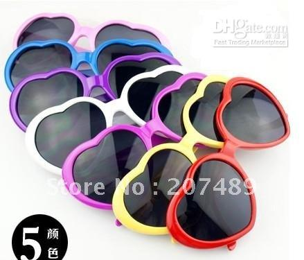 $enCountryForm.capitalKeyWord Canada - 56pcs heart shape sunglasses Glasses Unisex Eyeglasses Stylish eayware Trendy Popular multi colors