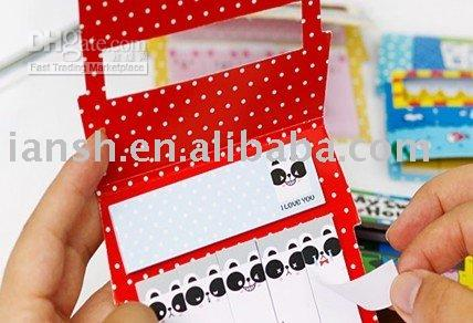 Wholesale New Korea My House Expressions Notepad Memo Pad Sticky notepad