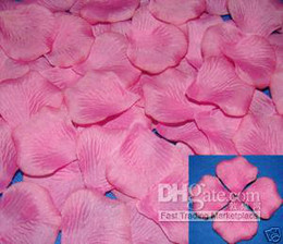 Wholesale Lowest Price Silk Flowers - new arrival hot sell fashion low price 2000 fuchsia silk rose petals wedding Flowers Favor