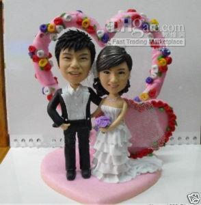 Unique Personalized Wedding Cake Topper Figurine Gift