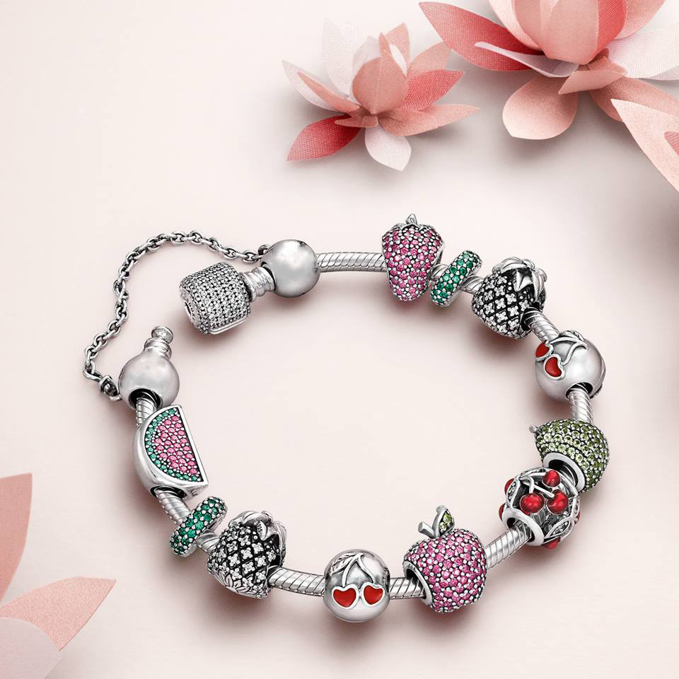 Pandora Style Jewelry: Valentine's Day 925 Sterling Silver Beads My Beautiful