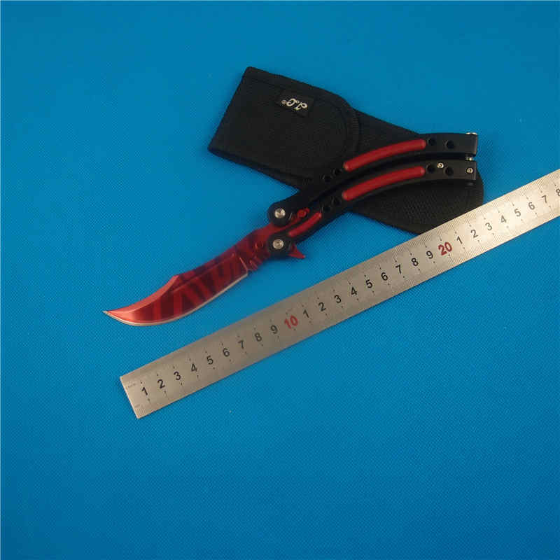 2018 Tactical Knife Fidget Spinner Rainbow Color Fruit