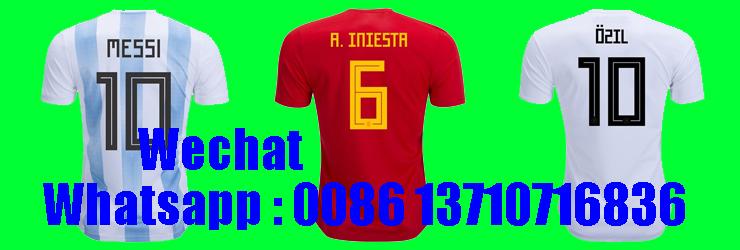 Jerseys de fútbol al por mayor de Tailandia 57e3665725f1e