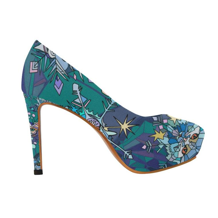 4a289cc5354 Summer Floral Sandals Fish Mouth Women Sandals Pu Suede Retro High Heels  Square Heel Woman Buckle Shoe Size 35 -40 Flip Flops Summer Sandal Rome  Sandal ...