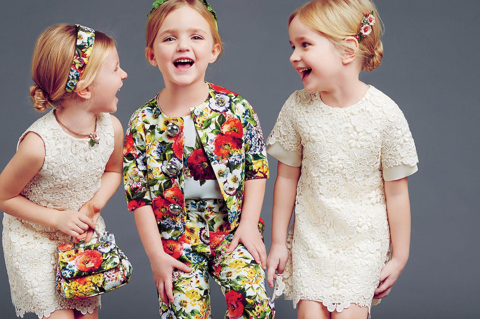 Самая модная детская одежда весна-лето 2015 года