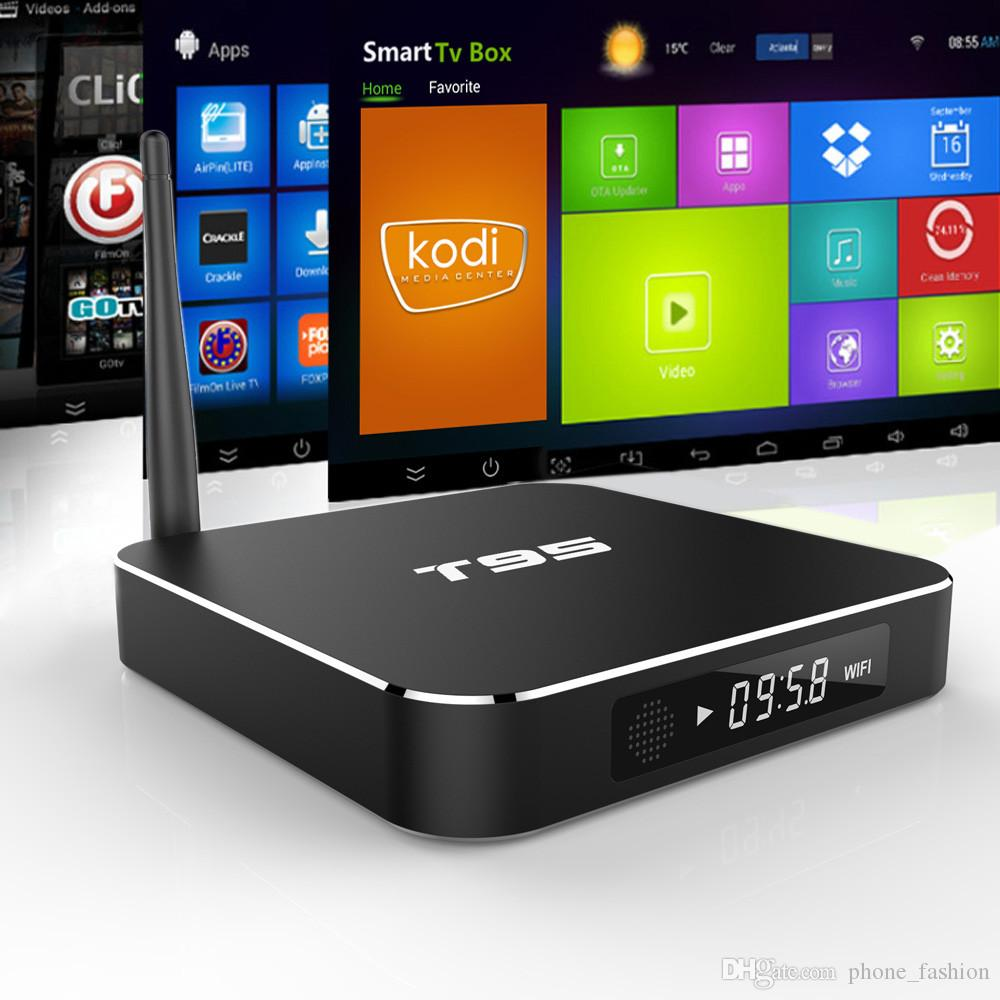 Retail And Wholesale Metal Frame T95 Andorid 5 1 Tv Box Amlogic S905 Quad  Core 2gb/8gb 2 4g/5ghz Wifi Kodi 16 0 Apk Addons Pre Installed Android Tv  Tv