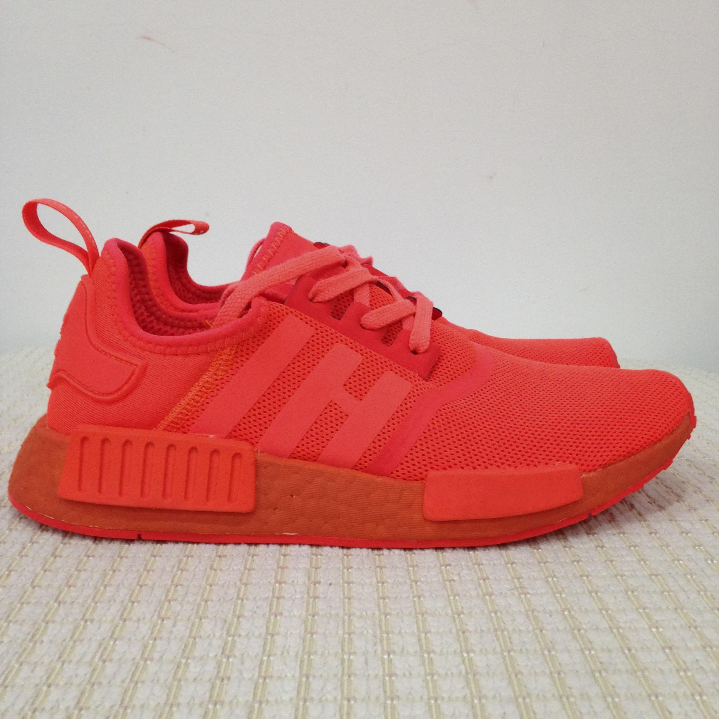 info for cc25b aa815 2017 2017 Hot Sale Nmd R1 Solar Red Running Shoes For Men S31507 Perfect  High Quality Version Nmds Ri Runner Sneakers Women From Bravebean, $82.87 |  ...