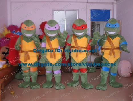 Wholesale Sly Green Teenage Mutant Ninja Turtles Tmnt Tortoise Turtle  Chelonian Mascot Costume Cartoon Character Mascotte Adult Zz1222 Fs  Superman