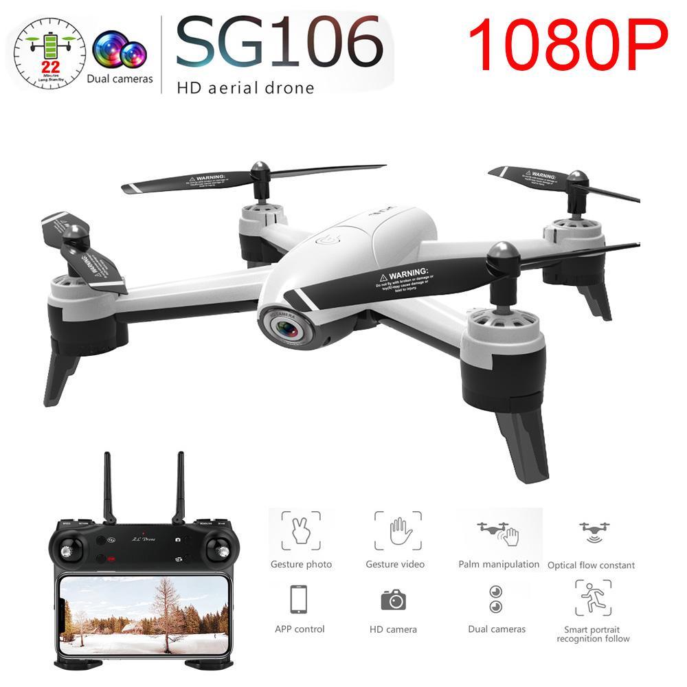 SG106 WiFi FPV RC Drone Camera Optical Flow 1080P HD Dual Camera Aerial Video RC Quadcopter Aircraft Quadrocopter Toys Kids