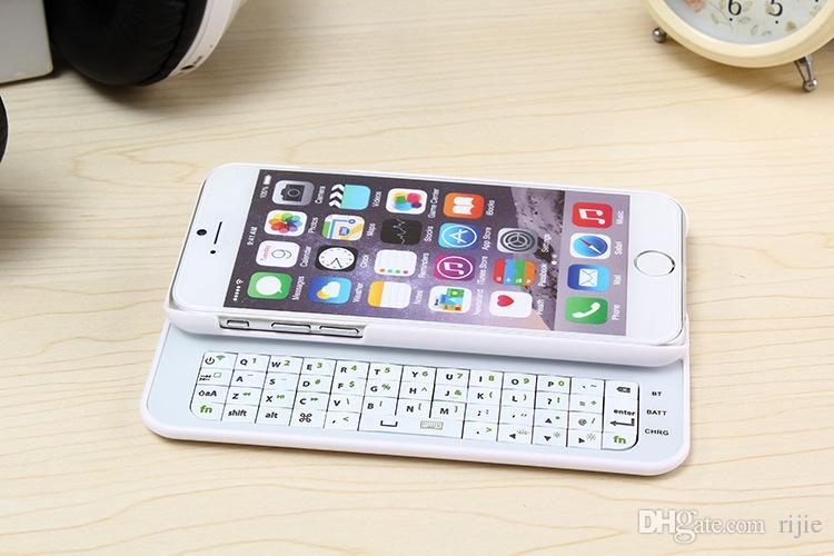 Free Shipping Apple Iphone 6 iphone 6 plus Transfiguration Slider Phone After a Wireless Bluetooth keyboard + Sliding Cover Protective Shell