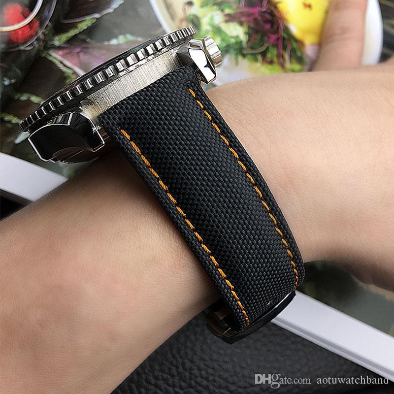 nylon-watchband-genuine-leather-watchstr