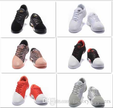 90404b678802 DHGATE.COM. FASHION 2017 HARDEN VOL. 1 MENS BASKETBALL SHOES BLACK WHITE ORANGE  WHOLESALE ...