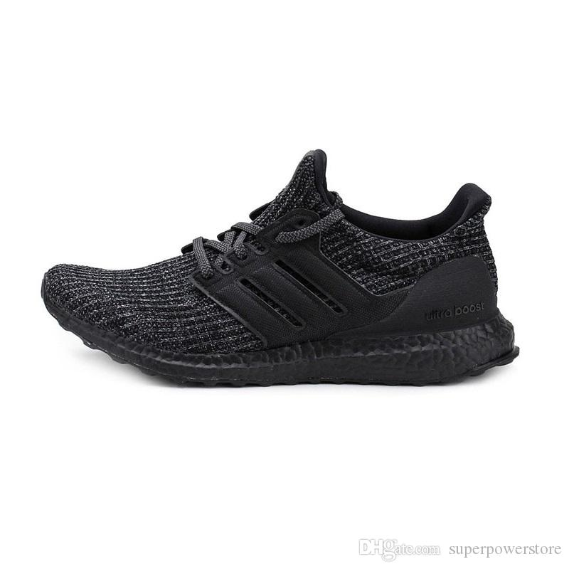 sports shoes 7ba3a 0c2b5 Adidas Ultra boost 4.0 Men Women Triple Black White CNY Oreo Blue Red  Uncaged Ultra Primeknit Running Shoes Sports Sneakers US5-11 With Box