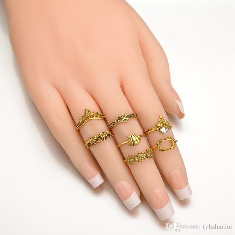 tique Bohemian Jewelry Retro Shell Bimonthly C