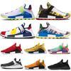 1e4cfe9f4b380 2019 Pharrell Williams Human Race Running Shoes PW Hu Trail Oreo Equality  Tanger Nerd Solar Pack Mens Women Trainers Sports Sneakers 36-47