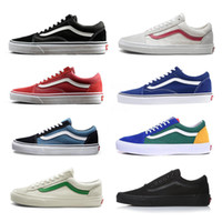 932b8a26d78fae Wholesale vans sneakers for sale - 2019 Vans Athentic Classic Old Skool  Canvas Mens Skateboard Designer