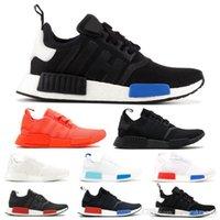 d83f7267c25f0 Quality Best Nmd R1 Primeknit Runner For Men Women Running Shoes Og Release Triple  Black Designer Sport Sneakers Trainers 36-45